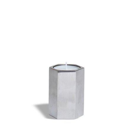 Mini-urne zeshoek - 7,5 cm
